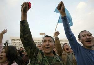 Киргизская оппозиция выдвинула властям ультиматум