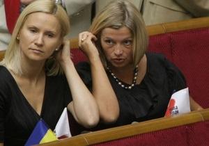 Закон о выборах: депутат от НУ-НС попросила Литвина отозвать ее голос