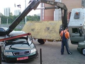 Киевские власти объяснили ухудшение ситуации на дорогах отсутствием эвакуаторов