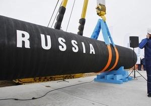 Чехия начала закупать газ у России через Северный поток