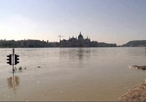 Высокая вода пришла в Венгрию