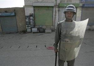 В Афганистане погибли девять полицейских