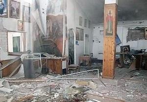 Взрыв в храме в Запорожье: Милиция не исключает версию теракта