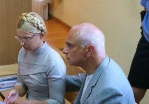 К Тимошенко не пустили супруга