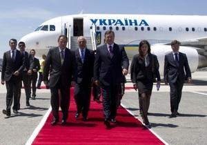 Янукович сегодня отправляется в США