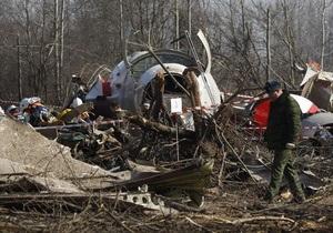 Россия направила в Польшу окончательный отчет по результатам расследования катастрофы Ту-154