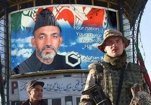 В Афганистане арестовали группу, готовившую покушение на Карзая