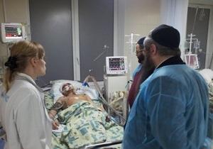 Избитого студента киевской еврейской школы направили на лечение в Израиль