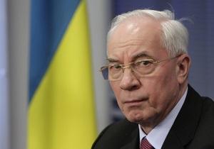 Азаров: 80% списка партии УДАР состоит из людей, которые уже были при власти