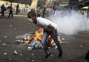 В центре Каира собрались несколько десятков тысяч противников Мурси
