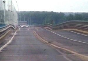 В Волгограде сняли ограничения на движение по мосту, который раскачало с амплитудой в метр