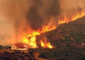 Грек поджег лес из-за того, что его не взяли в пожарные