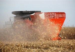 Госкомстат: За девять месяцев украинские аграрии собрали 34 млн тонн зерна