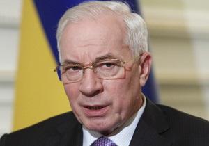 Азаров отправляется  в Люксембург на переговоры с руководством ЕС