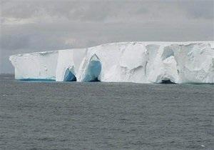 К берегам Австралии приближается гигантский айсберг