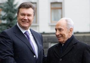 Янукович и Перес договорились о сотрудничестве и подписали Совместное заявление