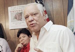В Никарагуа скончался бывший лидер Контрас