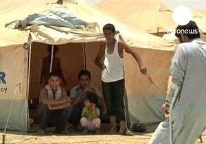 Заатари принимает сирийских беженцев