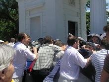 За беспорядки на Графской пристани задержаны трое севастопольцев