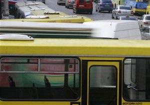 В Украине падают объемы пассажирских перевозок