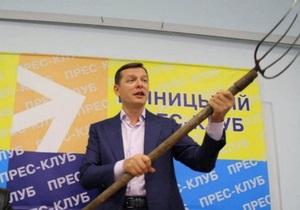 Ляшко: Турчинову и Яценюку выгодно, чтобы Тимошенко сидела
