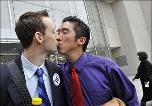 Читателей The Washington Post возмутила фотография целующихся геев на первой странице газеты