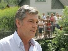 Ющенко отправился в Ивано-Франковскую область с рабочей поездкой