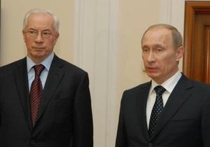 Азаров прибыл в загородную резиденцию Путина