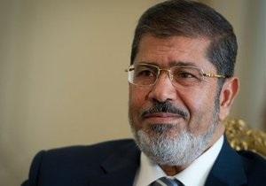 Мурси сменил руководителей десяти министерств, в том числе глав Минфина и МВД Египта