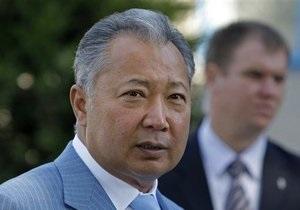 Брат и двое сыновей президента Кыргызстана объявлены в розыск