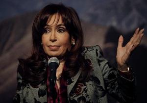 Президент Аргентины обвинила Британию в высокомерности