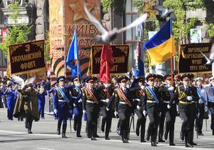 на Крещатике будет перекрыто движение в связи с репетицией парада