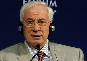 Азаров об оппозиции в Давосе