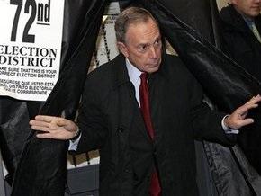 Майкл Блумберг избран мэром Нью-Йорка на третий срок