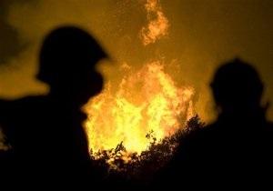 В Полтавской области продолжается тушение торфяного пожара