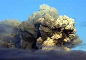 Облако вулканического пепла останется над Европой до середины следующей недели
