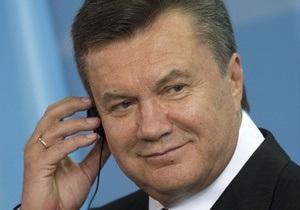 Янукович готовится к поездке в Китай