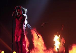 На съемках шоу у Могилевской загорелось платье