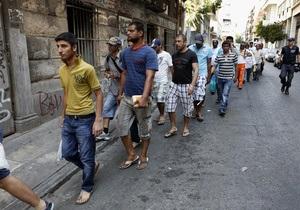 В Афинах арестованы свыше 1100 нелегалов