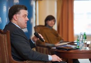 Вслед за Тимошенко и Яценюком в трансляции Пасхального приветствия каналы отказали и Тягнибоку