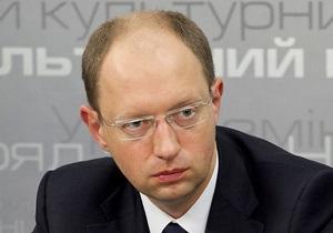Яценюку не нравится идея об объединении оппозиции в одну партию