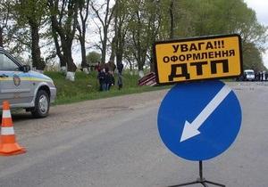 В Донецкой области в результате ДТП погибли два человека, 12 госпитализированы