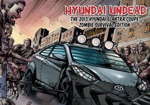 Hyundai выпустил авто борца с зомби - Hyundai Veloster