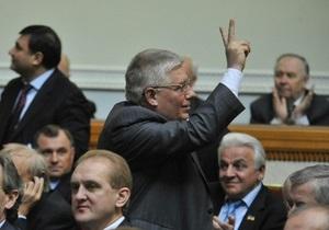 ПР: Рада ратифицирует соглашение по ЧФ, несмотря на  слюни и сопли  оппозиции