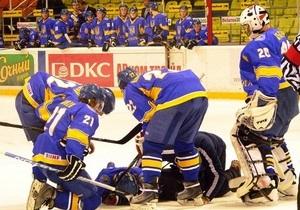 Украинская молодежка с треском вылетела во второй дивизион мирового хоккея