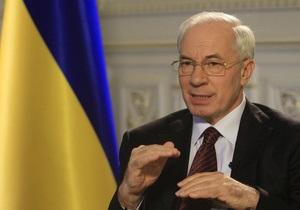 Азаров сравнил реформы украинского правительства с реформами Столыпина