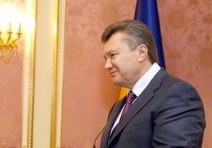 Янукович познакомился с послами семи стран