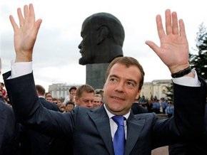 Медведев: Москва - символ развития России