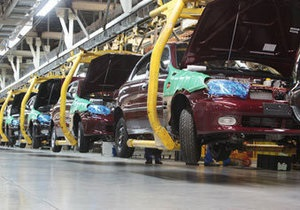 Украина за восемь месяцев увеличила выпуск автомобилей на 56%