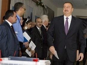 Алиев сохраняет лидерство на выборах президента Азербайджана
